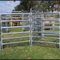 Buy cheap Carbon Steel Farm Portable Livestock Panels , Portable Round Pen For Horses from wholesalers