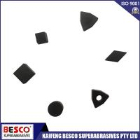 Buy cheap Good Quality Solid CBN Inserts for Hardened High Chrome Steels Roughing and Continuous Cutting from wholesalers
