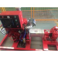 Buy cheap High Speed High Pressure Fire Fighting Pumps With Eaton Controller 3550 from wholesalers