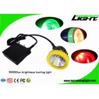 Buy cheap Strong brightness With 4 colors hunting lighting 3w LED Mining Headlamp night from wholesalers