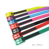 Buy cheap 2013 New Fashion Pyramid Silicone Belt from wholesalers
