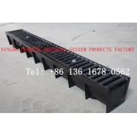 China Trench Drain With Ductile Iron Grating on sale