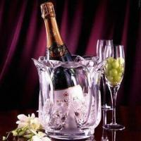Buy cheap Acrylic Botanica Champagne Bucket in Fashionable Design, Measures 18.0 x 19.5cm from wholesalers