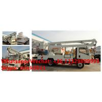 Buy cheap 2020s new  SINO TRUK HOWO new 12-18m hydraulic aerial working platform truck for sale, High altitude operation truck product
