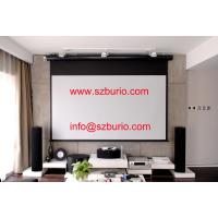 Buy cheap Motorized/Electric Glass Beaded Projection Screen Projector Screen from wholesalers