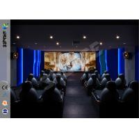 Buy cheap Theme Park Party Gaming Interactive 7D Movie Theater For Business product