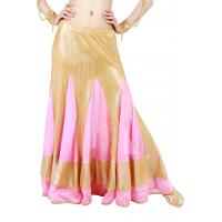Buy cheap Chiffon piecing gorgeouslong belly dance skirts  360 degree  length  92cm from wholesalers