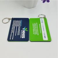 Quality Personalized Company Advertisement Gift Tags Labels For Soft PVC Keychain for sale