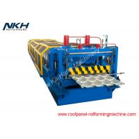 Buy cheap 914mm Input Sheet Metal Roll Forming Machines With 75mm Shaft Diameter from wholesalers
