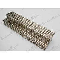 Disc / Axially Permanent Neodymium Magnets N38 Grade For Computer Rigid Disc Drives