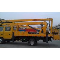 Operating Radius 7.6m Boom Lift Truck XZJ5067JGK Horizontal Reaches Up To 18 Meters