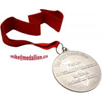 Buy cheap Silver plated medallion from wholesalers