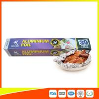 Buy cheap Disposable Food Grade Aluminum Foil Sheets Oil Resistant , Aluminium Sheet Roll from wholesalers