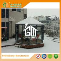 Buy cheap Aluminum Greenhouse-Hexagon Series-320 X 283 X 275CM-Dark Grey Color- PC or Glass from wholesalers