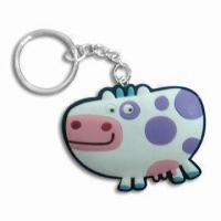 Buy cheap PVC Key Ring, Customized Designs are Available, Used as Promotions Gifts product