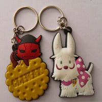 Buy cheap 3D cartoon dog keychain from wholesalers