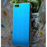 Buy cheap Metal Wire Crawing Process iPhone 5 Protective Case Can Easy to Remove from wholesalers
