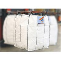 Buy cheap YL105110130B PP Woven White  Color UV Protected and Anti Leakage Spout Top / Spout Bottom Bulk Bags for PVC Powder from wholesalers