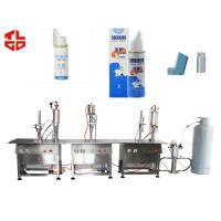 Buy cheap Pharmaceuticals Dose Inhaler Aerosol Spray Filling Machine High Speed from wholesalers