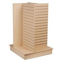 Buy cheap Durable Wood Slatwall Display Rack Shelf Stand For Pharmacy from wholesalers