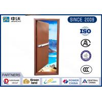 Buy cheap Self Closing Fire Rated Steel Door / Sound Insulation Commercial Steel Fire Doors from wholesalers