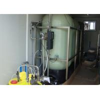 Buy cheap Mobile Containerized Brackish Water Reverse Osmosis Systems for  drinking 6m3 / hour from wholesalers