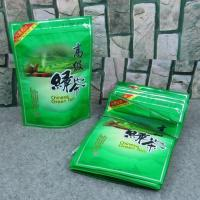 Buy cheap Food Grade Zipper Plastic Bags With Clear Window For Tea Packaging from wholesalers