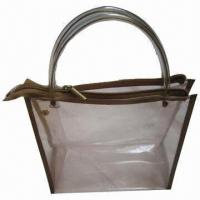 Buy cheap Promotional Phthalate-free PVC Shopping Bag, Available in Various Printing Techniques product