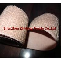 Buy cheap Customized weave un-brushed/un-napped elastic hook and loop fastener band product