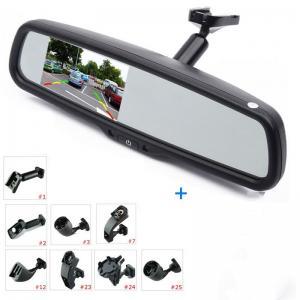 China Delicate Rear View Mirror Reverse Camera , 3.5 Reverse Camera Mirror Kit 480x272 Pixels on sale