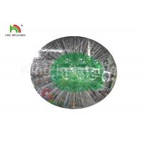 Buy cheap Durable Green 0.8mm PVC Outdoor Inflatable Bumper Ball For Adult from wholesalers