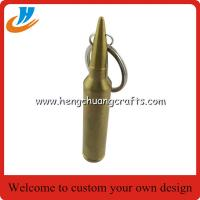 Buy cheap Imprinted bullet beer opener key tags, bespoke bullet bottle can opener key ring, from wholesalers