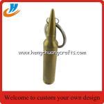 Buy cheap Imprinted bullet beer opener key tags, bespoke bullet bottle can opener key ring, from wholesalers