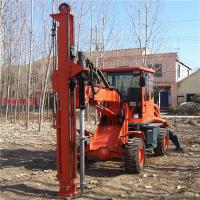Buy cheap Hot sale hole drilling machine with various ground screw size from wholesalers