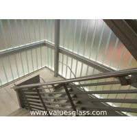 Buy cheap Low Iron Tempered U Shaped Glass 262(W)X60(H)X7(T) Mm Dimension Building Material from wholesalers