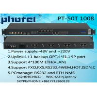 Buy cheap PHOTEL TELECOM 30 CHANNEL PHONE 4ETH 4E1(75 ohm/120 ohm) PCM MUX support 1+1 backup OPT from wholesalers