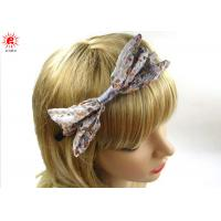 Buy cheap Fashion Girls Floral Decorative Metal Hair Band Bows Hair Accessories from wholesalers
