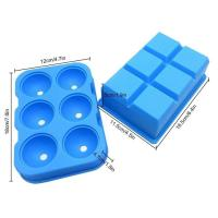 Buy cheap Factory wholesale silicone Ice Tray Cake mold Custom Brain ice cube tray sset mold size shape from wholesalers
