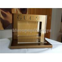 Buy cheap Acrylic Metal Counter Display Racks Brand Name Optical Display Stand For Gucci Eyewear from wholesalers