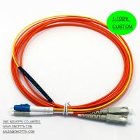 Buy cheap LC - SC  Mode Conditioning Fiber Optic Patch Cables Cord  MCP Customized Length Long Life span from wholesalers