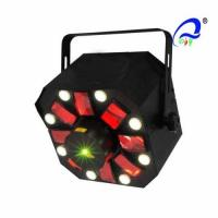 Buy cheap Sound Active LED Laser Special Effects Lights With Strobe 120 Degrees Wide Angle from wholesalers