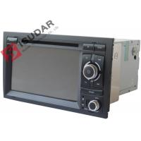 Buy cheap Original Front Panel 2 Din In Dash Car Dvd Player With Reverse Camera For A4 / Seat EXEO from wholesalers