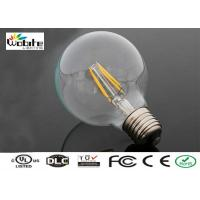 Buy cheap 5200 Lumen LED Filament Lamp Light Bulbs E12 E14 6W For Exhibition Gallery from wholesalers