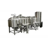 Buy cheap 5000L Sanitary SS Large Brewing Equipment With Tri - Clamp Connection from wholesalers