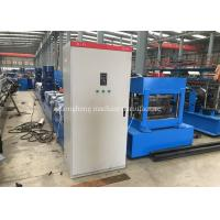 Buy cheap Steel Highway Guardrail Forming Machine Plc Control With 3 - 4mm Thickness from wholesalers