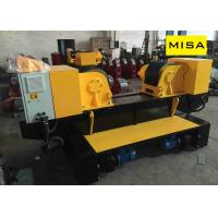 Buy cheap 40T Yellow Fixed Adjustable Pipe Turning Rolls With 2*1.5KW Motor And Φ400mm PU Wheels from wholesalers