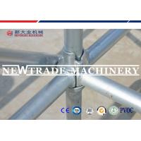 Buy cheap High Strength Construction Cuplock Scaffolding System , Mobile Access Scaffold from wholesalers