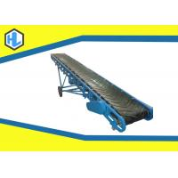 Buy cheap Simple Structure Loading Belt Conveyor , Blue Color Climbing Belt Elevator Conveyors from wholesalers