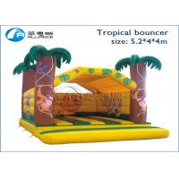 Buy cheap Mini Inflatable Bounce House Tropical Bouncer Bouncy Bounce Inflatables from wholesalers