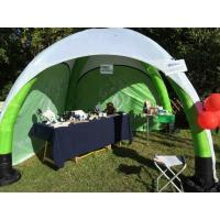 Buy cheap 3x3 M Inflatable Trade Show Display Long Service Life Spider Type Heat Transfer Printing from wholesalers